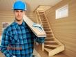 МАЙСТЕР з виготовлення дерев'яних сходів