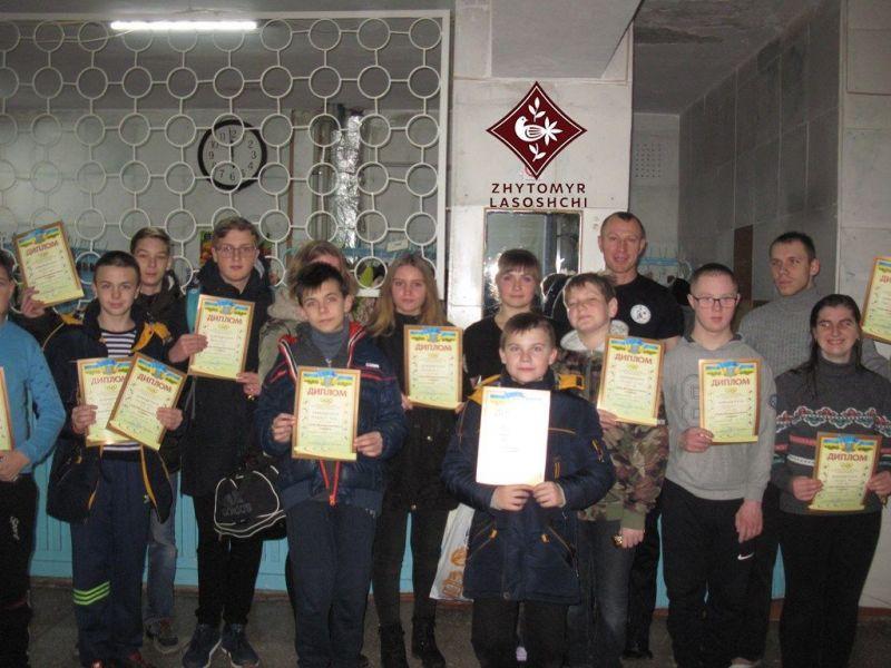 Бердичівляни взяли участь у змаганнях з плавання з нагоди Міжнародного Дня людей з інвалідністю