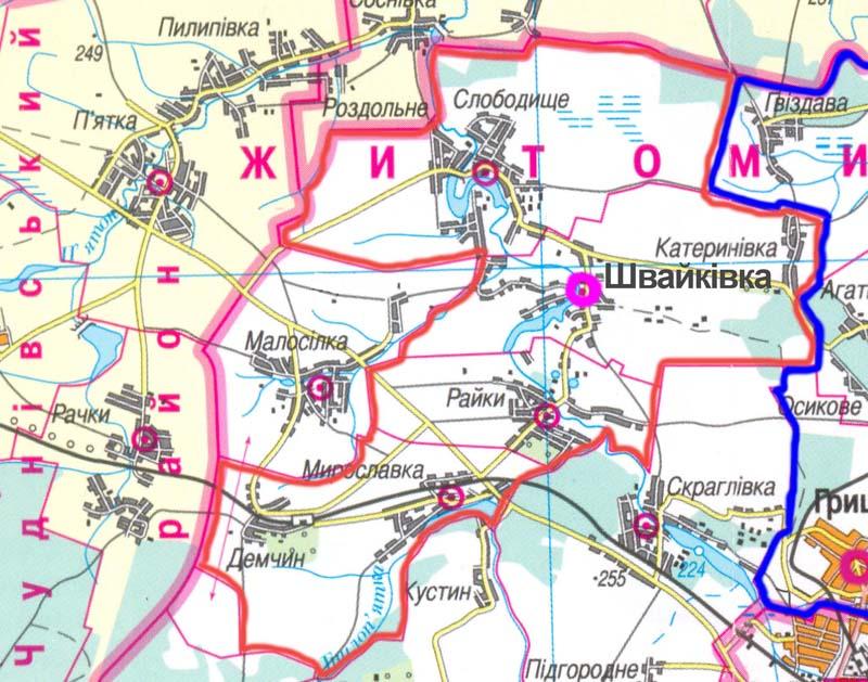 karta Shvaykivka