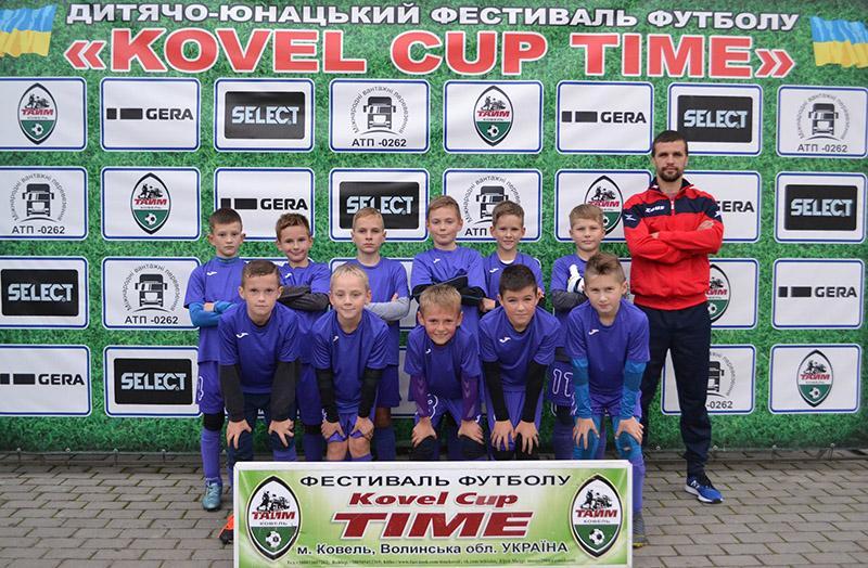 Бердичівські футболісти взяли участь у Всеукраїнському турнірі в Ковелі