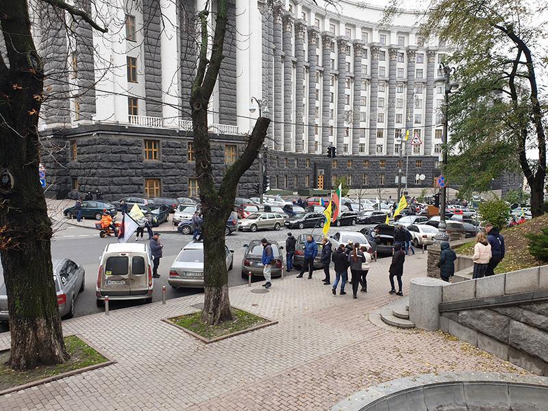 Бердичівські підприємці мітингували під Верховною Радою