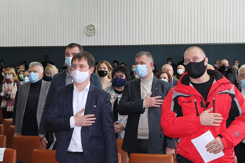 Сесія нової Бердичівської міської ради