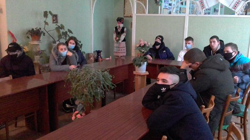 Зустріч бердичівської молоді з суддею