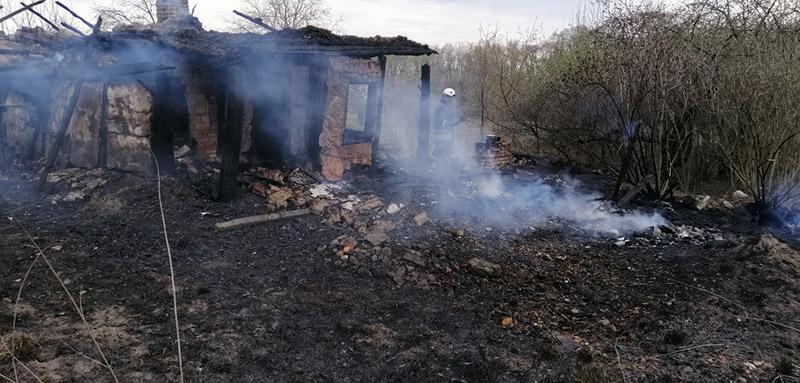 В Бердичівському районі згорів будинок