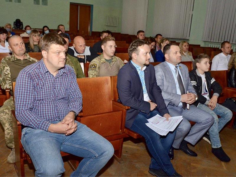 Українська стратегія Гройсмана висунула кандидатом на посаду міського голови Бердичева Ігоря Романського ФОТО