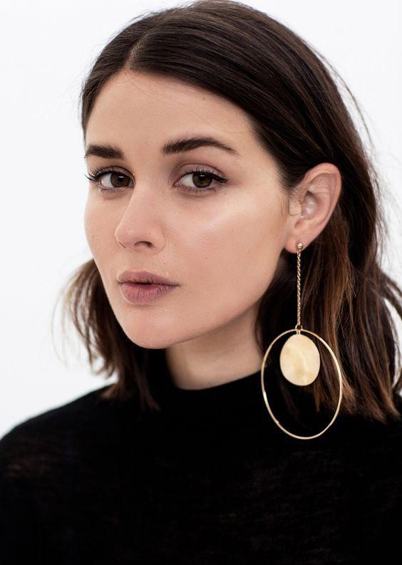 Моносерьги Sovajewels - модные ювелирные украшения
