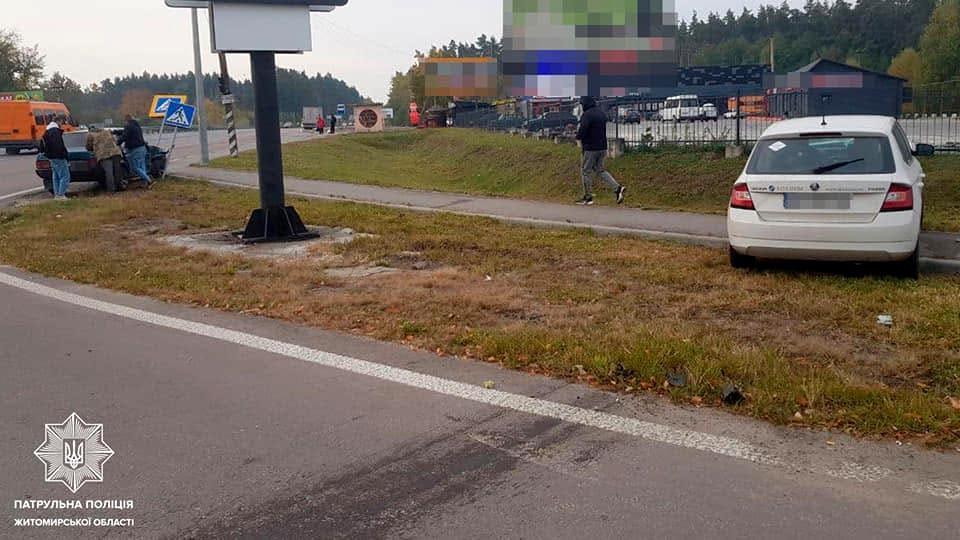ДТП на шосе Бердичів-Житомир