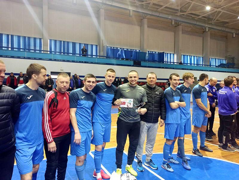 Футбольний клуб «Бердичів» - срібні призери Аматорської футзальної ліги України