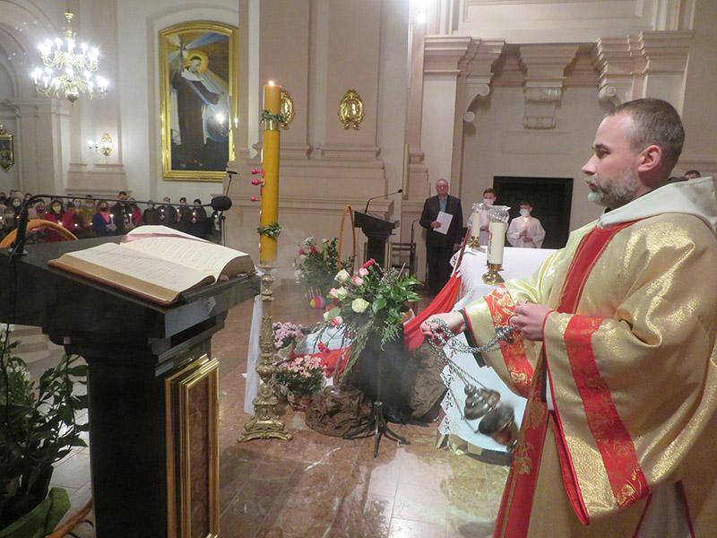 Римо-католики Бердичева відсвяткували Воскресіння Господнє