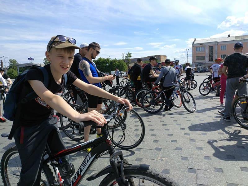 Велопробіг у Бердичеві