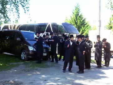 10 автобусів єврейських паломників приїздили сьогодні до Бердичева
