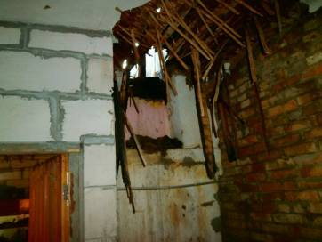 В Бердичеві через несправність печі загорівся будинок. Фото