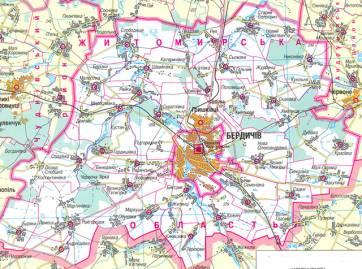 Бердичеву стане набагато легше приєднати до себе навколишні села