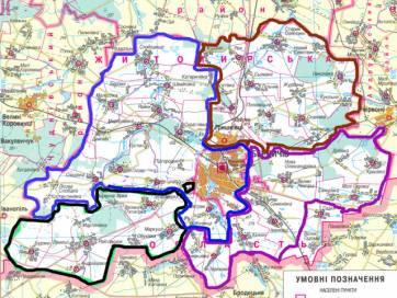 Озадівка, Малосілка та Слободище увійдуть до складу Бердичівської міської громади