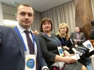 Селищний та сільські голови Бердичівського району взяли участь у Форумі місцевого самоврядування