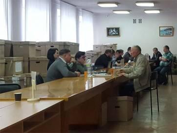 Бердичівська окружна виборча комісія першою в Житомирській області завершила підрахунок голосів