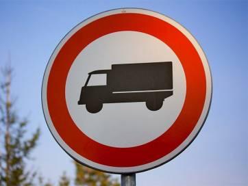 Рух великовагових транспортних засобів в Бердичеві та районі обмежено