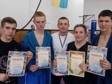 Бердичівські самбісти – призери Чемпіонату Житомирщини